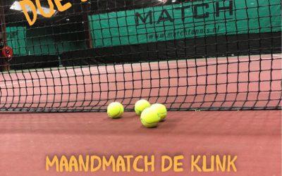 Maandmatch de Klink